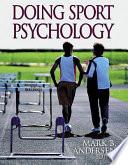 Doing Sport Psychology PDF