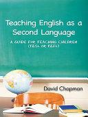 Teaching English as a Second Language [Pdf/ePub] eBook