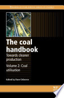 The Coal Handbook Towards Cleaner Production Book PDF