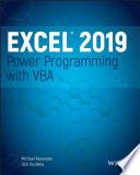 """Excel 2019 Power Programming with VBA"" by Michael Alexander, Dick Kusleika"