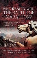 Pdf Who Really Won the Battle of Marathon? Telecharger