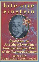 Bite-Size Einstein