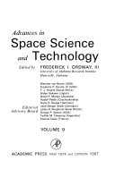 Advances in Space Science