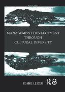 Management Development Through Cultural Diversity