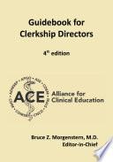 Guidebook For Clerkship Directors Book PDF