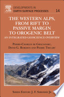 The Western Alps  from Rift to Passive Margin to Orogenic Belt