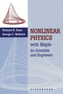Nonlinear Physics with Maple for Scientists and Engineers [Pdf/ePub] eBook