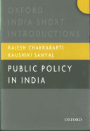 Public Policy in India