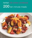 Hamlyn All Colour Cookery  200 Ten Minute Meals