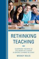 Rethinking Teaching