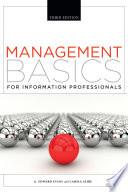 Management Basics for Information Professionals