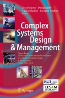 Complex Systems Design & Management [Pdf/ePub] eBook