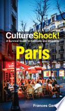 CultureShock  Paris  2016