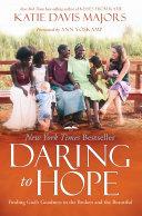Daring to Hope Book PDF