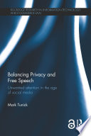 Balancing Privacy And Free Speech