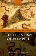 The Economy of Pompeii Book