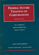 Federal Income Taxation of Corporations, 3d, 2010 Supplement