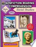 Nonfiction Reading Comprehension  Social Studies  Grade 4 Book
