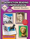 Nonfiction Reading Comprehension  Social Studies  Grade 4