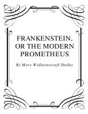 Frankenstein Or The Modern Prometheus  Book PDF