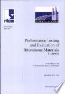 PRO 28: 6th International RILEM Symposium on Performance Testing and Evaluation of Bituminous Materials (PTEBM'03)