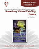 Something Wicked This Way Comes Novel Units Teacher Guide