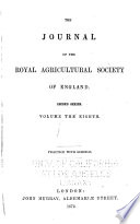 Journal of the Royal Agricultural Society of England