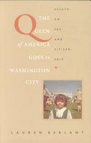 Pdf The Queen of America Goes to Washington City