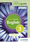Books - Checkpoint English Workbook 3 | ISBN 9781444184464