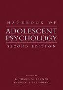 Pdf Handbook of Adolescent Psychology Telecharger