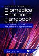 Biomedical Photonics Handbook Book