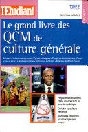 Le grand livre des QCM de culture générale