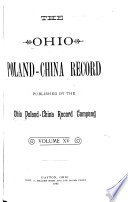 The Ohio Poland China Record Book