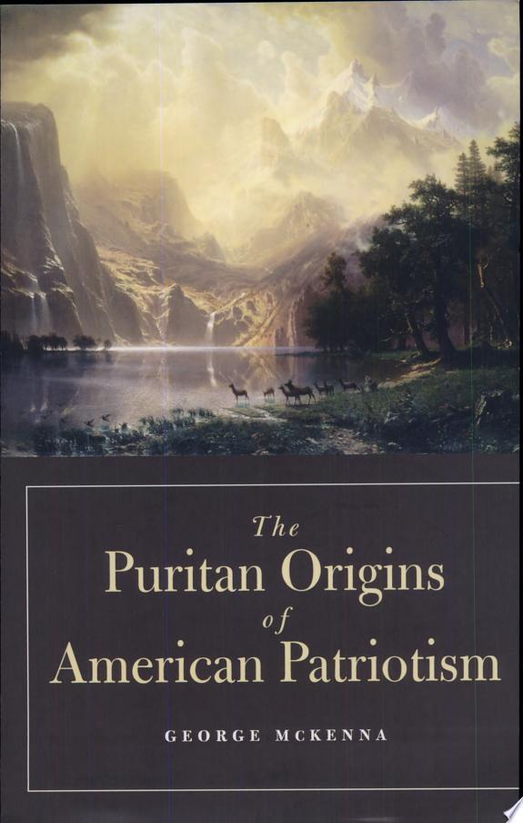 The Puritan Origins of American Pat