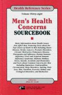 Men s Health Concerns Sourcebook