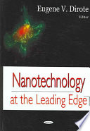 Nanotechnology at the Leading Edge Book