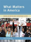 What Matters In America Book