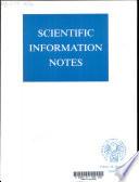 Scientific Information Notes Book