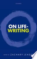 On Life Writing Book PDF