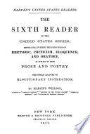 The Sixth Reader of the United States Series