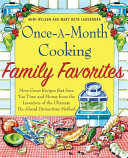 Once A Month Cooking Family Favorites Book