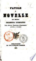 Favole e novelle del dottor Lorenzo Pignotti