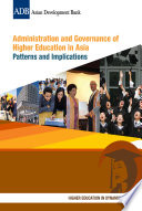 Administration and Governance of Higher Education in Asia