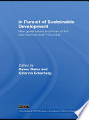 In Pursuit of Sustainable Development Book