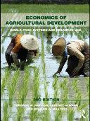 Economics of Agricultural Development