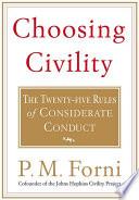 Choosing Civility Book
