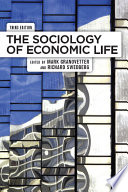 The Sociology Of Economic Life Book PDF