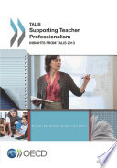 Talis Supporting Teacher Professionalism Insights From Talis 2013