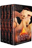 Blazing Dragons Box Set (Books 7-10: Fallen Immortals)—Dragon Shifter Paranormal Romance