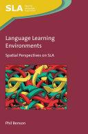 Language Learning Environments